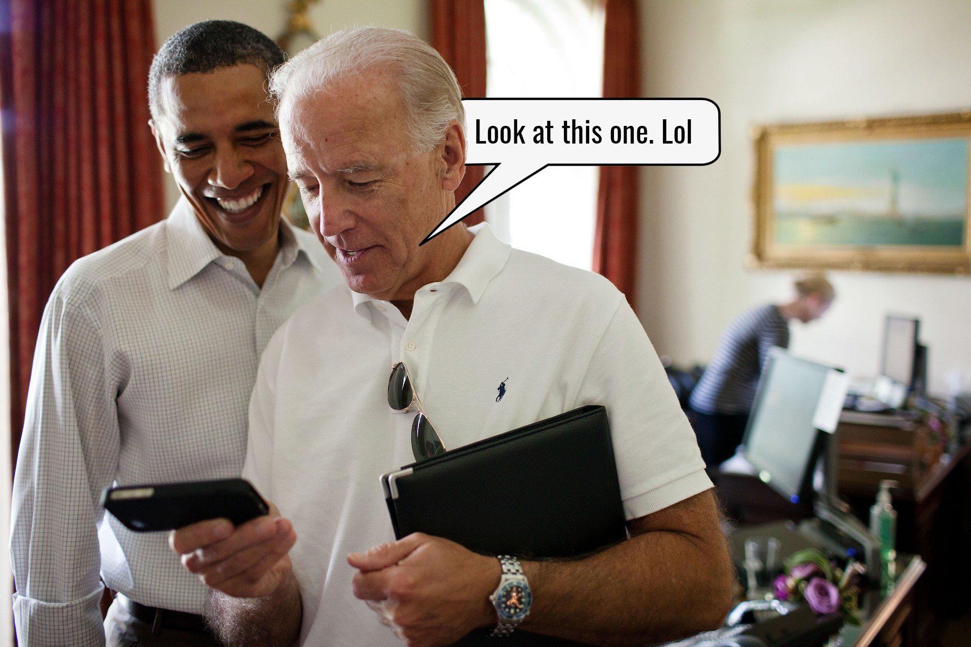 Strawmanning Biden: a coordinated craft.